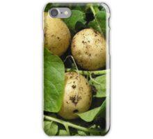 New potatoes in sunlight. iPhone Case/Skin