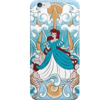 The King Triton's Daughter - Blue Dress iPhone Case/Skin