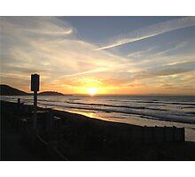 Kiwi Sunset Photographic Print