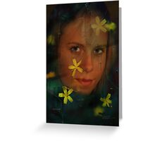 INDRE Greeting Card