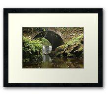 Torc Waterfall bridge Framed Print