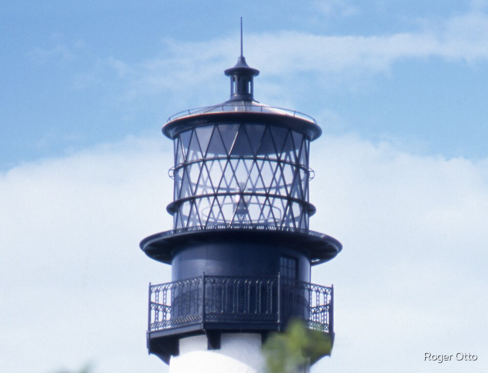 Cape Florida Lighthouse by Roger Otto
