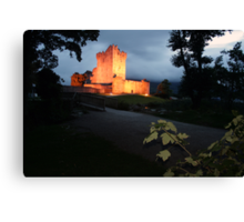 Ross castle late evening view Canvas Print