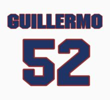 National baseball player Guillermo Moscoso jersey 52 by imsport