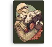 Weird Love  Canvas Print