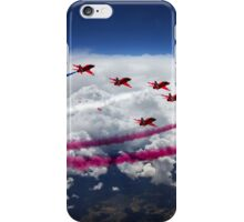 The Red Arrows Flight  iPhone Case/Skin