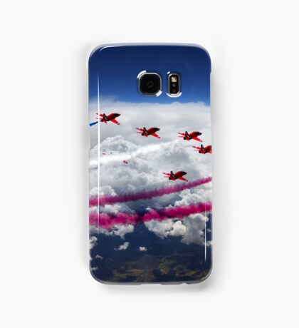 The Red Arrows Flight  Samsung Galaxy Case/Skin