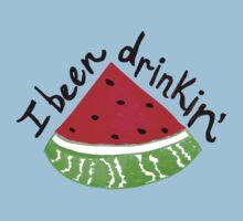 I Been Drinkin' Watermelon Baby Tee