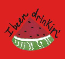 I Been Drinkin' Watermelon Kids Clothes