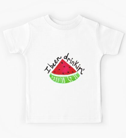 I Been Drinkin' Watermelon Kids Tee