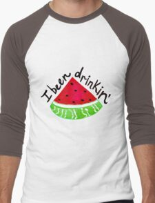 I Been Drinkin' Watermelon Men's Baseball ¾ T-Shirt