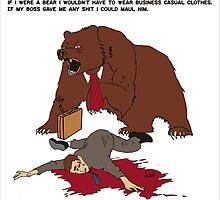 Business Bear by killmonkies