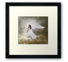 In the arms of the Angel Framed Print