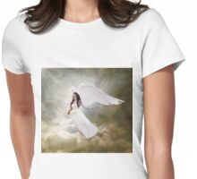 In the arms of the Angel Womens Fitted T-Shirt