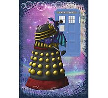 The Dalek and the Dragon Thief Photographic Print