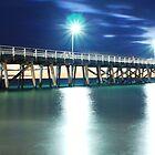 Grange Jetty: South Australia in the summertime by Brett Conlon