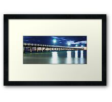 Grange Jetty: South Australia in the summertime Framed Print