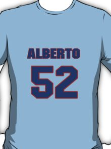 National baseball player Alberto Reyes jersey 52 T-Shirt