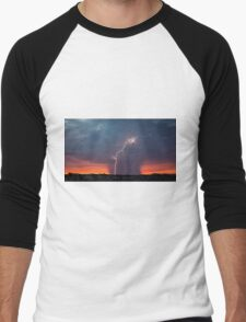 Atmospherics 1 - Pilbara, Western Australia Men's Baseball ¾ T-Shirt