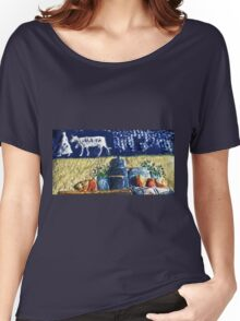 Exclusive: My Creations Artistic Sculpture Relief fact Main 7  PAINT (Painting & Mix, Digital Art ) (c)(t) by Olao-Olavia / Okaio Créations Women's Relaxed Fit T-Shirt