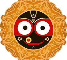 Jagannath. Indian God of the Universe. Lord Jagannatha. by OlgaBerlet