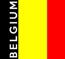 flag of belgium by tony4urban