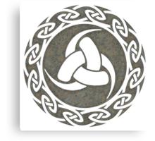 Triple Horn of Odin, Celtic Knot, Triforce, Odin Symbol Canvas Print