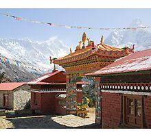 Everest, Ama Dablan from Tengboche Monastery Photographic Print
