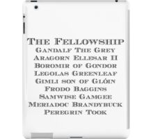 The Fellowship iPad Case/Skin