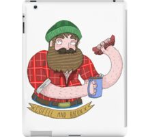 Coffee and Bacon iPad Case/Skin