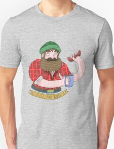 Coffee and Bacon Unisex T-Shirt