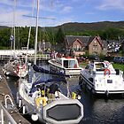 Fort Augustus, The Caledonian Canal by lezvee