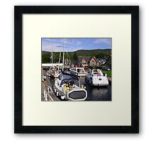 Fort Augustus, The Caledonian Canal Framed Print