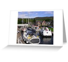 Fort Augustus, The Caledonian Canal Greeting Card