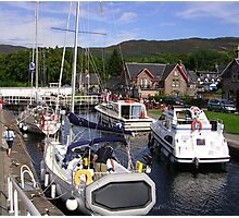Fort Augustus, The Caledonian Canal Photographic Print
