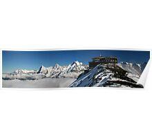 Schilthorn Alpine view 7 Poster