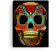 Grunge Skull No.2 Canvas Print
