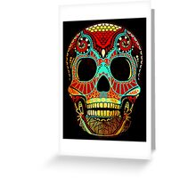 Grunge Skull No.2 Greeting Card
