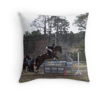 Jump Comp 4 Throw Pillow