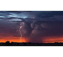 Atmospherics 2 - Pilbara, Western Australia Photographic Print