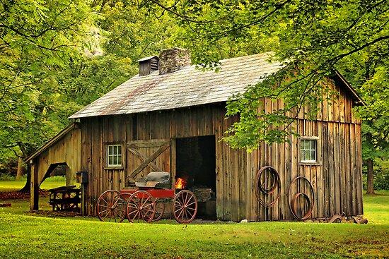 The Blacksmith Shop by Pat Abbott