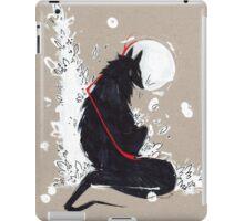 BLACK WOLF RIBBONS iPad Case/Skin