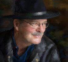 Black Hat Portrait by kimdiane
