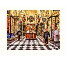 Gog and Magog Royal Arcade Melbourne Victoria Australia Art Print