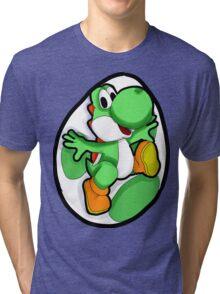 Very Green, Much Yoshi, Wow Tri-blend T-Shirt