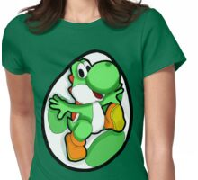 Very Green, Much Yoshi, Wow Womens Fitted T-Shirt