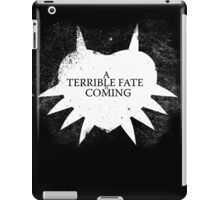 A Terrible Fate is Coming (White) iPad Case/Skin