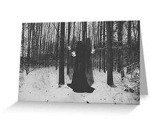 Witch. Greeting Card
