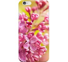 Lilac flowerets blooming bright iPhone Case/Skin