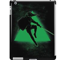 Silhouette Green iPad Case/Skin
